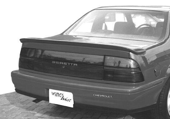Wings West - 1988-1996 Chevrolet Bretta Flush Mount Spoiler No Light