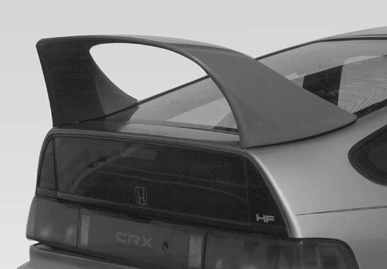 Wings West - 1988-1991 Honda Crx Super Style Wing No Light