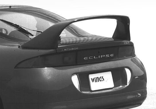 Wings West - 1995-1999 Mitsubishi Eclipse Super Style Wing No Light