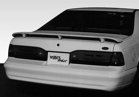 Wings West - 1989-1997 Ford Thunderbird 3 Leg Custom Style Wing No Light
