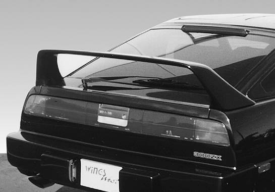 Wings West - 1984-1989 Nissan 300Zx F40 Style Wing No Light