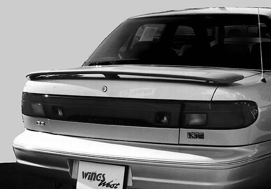 Wings West - 1995-1997 Kia Sephia 4Dr Factory Style 3 Leg Wing No Light