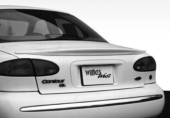 Wings West - 1995-1997 Ford Contour Factory Style Wing No Light