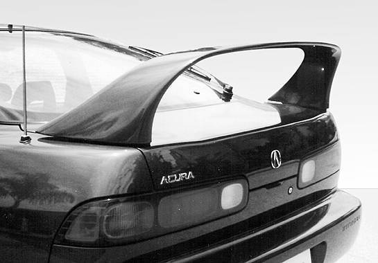 Wings West - 1994-2001 Acura Integra 2Dr Super Style Wing No Light