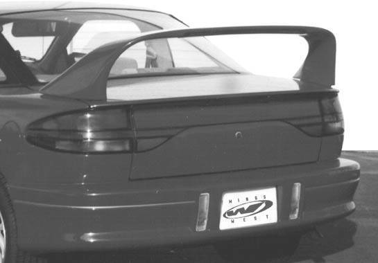 Wings West - 1991-1996 Saturn Sc Coupe Super Style Wing No Light