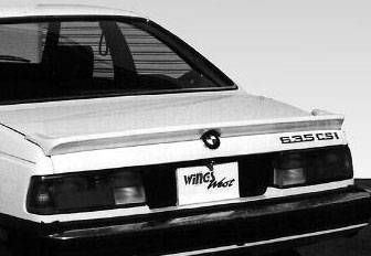 Wings West - 1981-1987 Bmw E24 6 Series Lip Wing No Light