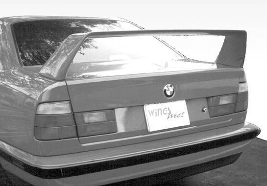 Wings West - 1989-1995 Bmw 5 Series E34 4Dr F40 Style Wing No Light
