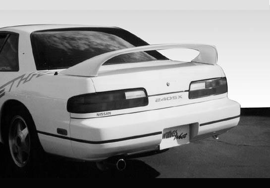 Wings West - 1989-1994 Nissan 240Sx Coupe 7 inches Mid Wing No Light