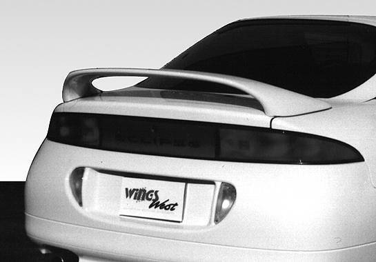 Wings West - 1995-1999 Mitsubishi Eclipse 7 inches Mid Wing No Light