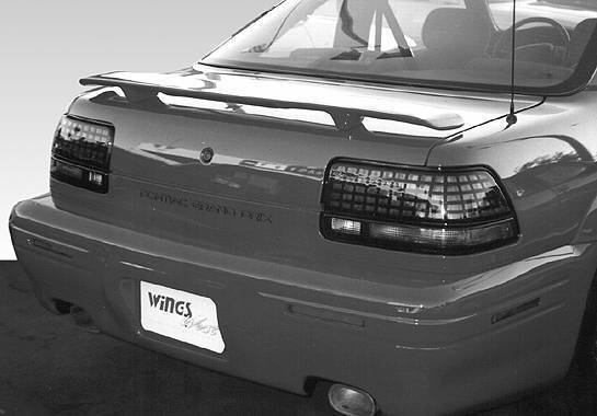 Wings West - 1992-1996 Pontiac Grand Prix Factory Style Wing No Light