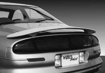Wings West - 1995-2000 Oldsmobile Aurora Custom Style Wing No Light