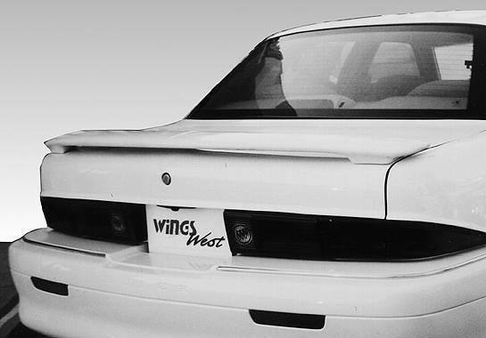 Wings West - 1994-1998 Buick Skylark 2/4Dr Custom Style Wing No Light