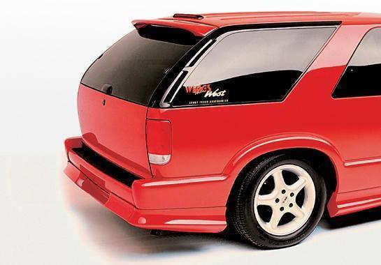 Wings West - 1995-1997 Chevrolet Blazer CUSTOM REAR WINDOW WING
