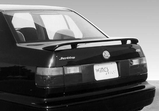 Wings West - 1993-1998 Volkswagen Jetta Factory Style Wing No Light