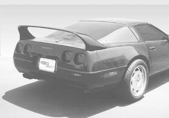 Wings West - 1991-1997 Chevrolet Corvette Super Style Wing No Light