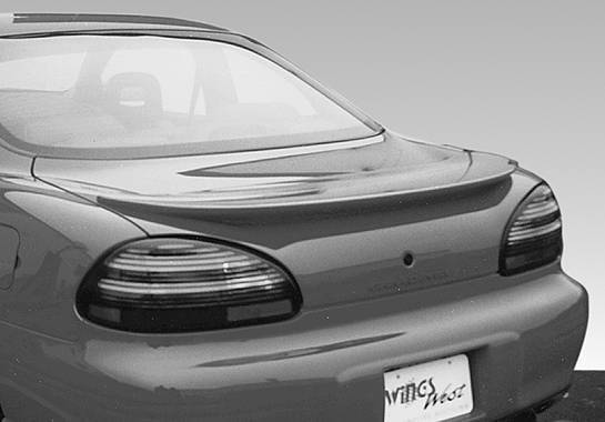 Wings West - 1997-2002 Pontiac Grand Prix Factory Style Wing No Light