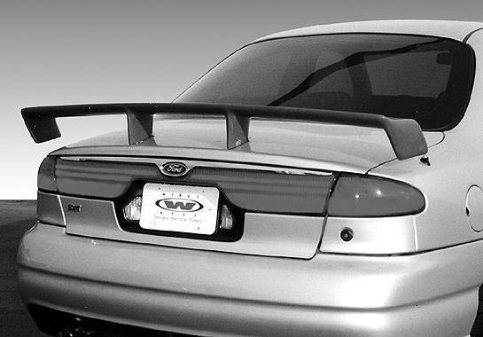 Wings West - 1998-2002 Ford Contour Touring Style Wing No Light