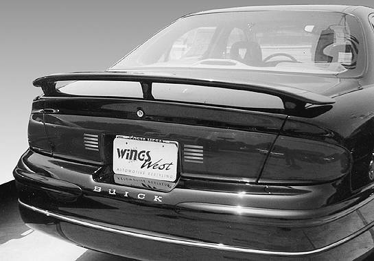 Wings West - 1997-2002 Buick Century 4Dr Custom 3 Leg Wing No Light