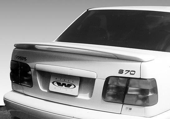 Wings West - 1997-2002 Volvo S-70 4Dr. Factory 2 Leg Wing No Light