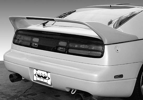 Wings West - 1990-1996 Nissan 300Zx Mid Wing No Light Truck Freight