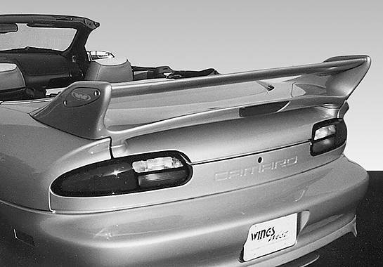 Wings West - 1993-2002 Chevrolet Camaro  Adj. Commando Style With Hole For Oem Light