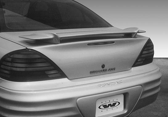 Wings West - 1999-2002 Pontiac Grand Am Factory Style Wing No Light