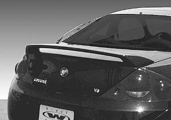 Wings West - 1999-2002 Mercury Cougar Factory Style Spoiler No Light