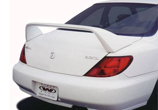Wings West - 1996-1999 Acura Cl Type R Style Wing No Light