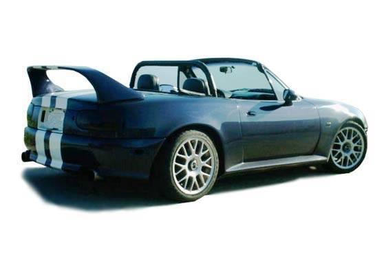 Wings West - 1990-1998 Mazda Miata Mid Wing No Light Fiberglass