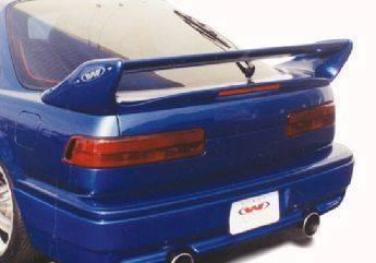 Wings West - 1995-1999 Dodge Neon 2/4Dr Adj. Commando Style Wing No Light