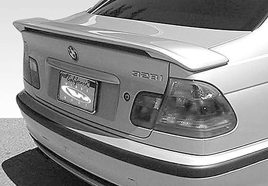 Wings West - 1999-2002 Bmw E46 4Dr Factory Style 2 Leg Wing No Light