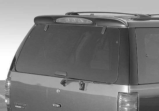 Wings West - 1997-2002 Ford Expedition W-Type Roof Spoiler No Light
