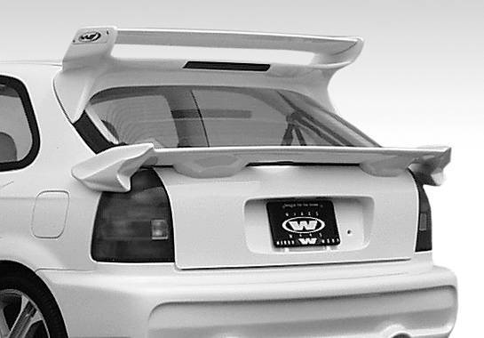 Wings West - 1996-2000 Honda Civic Hatchback Typ 2 Midwing