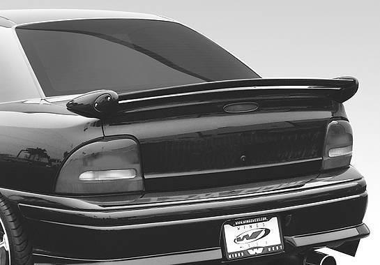 Wings West - 1995-1999 Dodge Neon 2/4Dr Mini-Me Commando Wing No Light