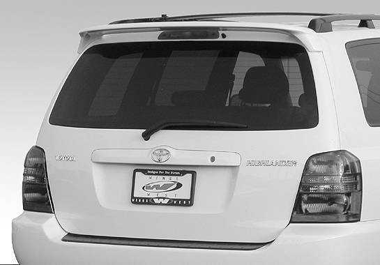Wings West - 2001-2002 Toyota Highlander Factory Style Wing No Light