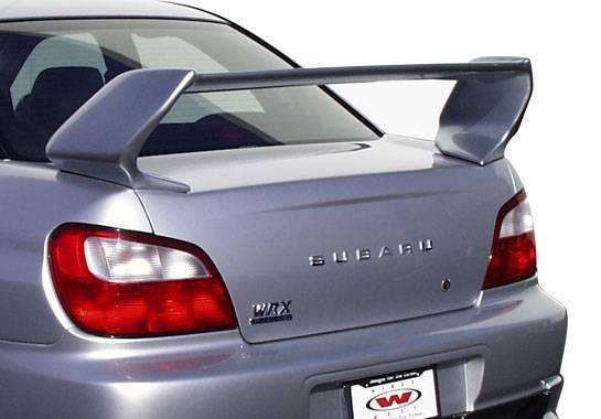 Wings West - 2002-2007 Subaru Wrx Prowing Wing No Light