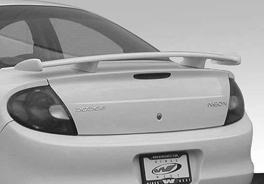 Wings West - 2000-2005 Dodge Neon In R/Tin Factory Style Wing No Light