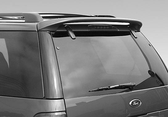 Wings West - 2002-2005 Ford Explorer W-Type Roof Spoiler No Light