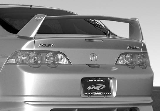 Wings West - 2002-2006 Acura Rsx Type S Wing No Light