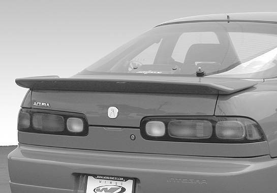 Wings West - 1994-2001 Acura Integra 2Dr Flush Mount Whaletail Wing No Light