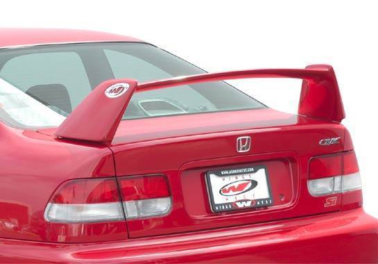 Wings West - 1996-2000 Honda Civic 2Dr Coupe Type S Wing