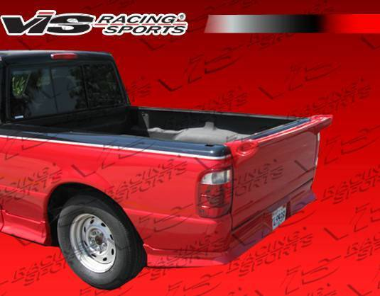 Wings West - 1998-2008 Ford Ranger Mini-Me Commando Spoiler