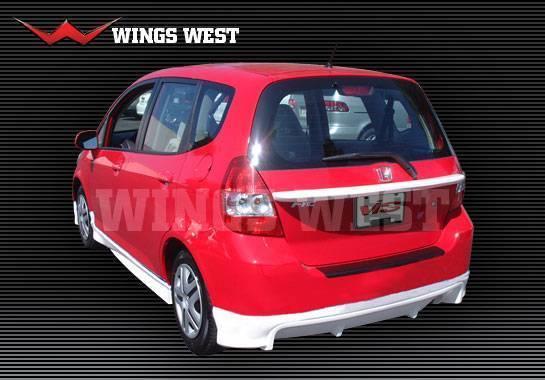 Wings West - 2007-2008 Honda Fit Racing Series Rear Hatch Mid Spoiler