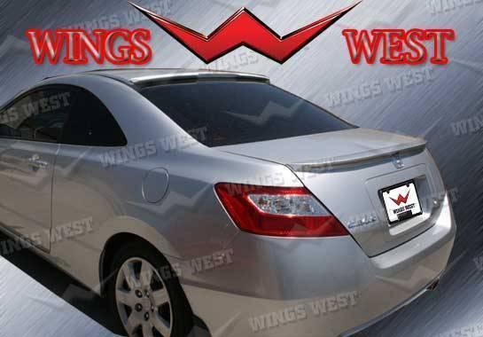 Wings West - 2006-2011 Honda Civic 2Dr Type R Roof Spoiler