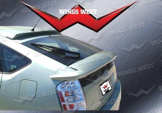 Wings West - 2004-2009 Toyota Prius W-Type Rear Deck Spoiler