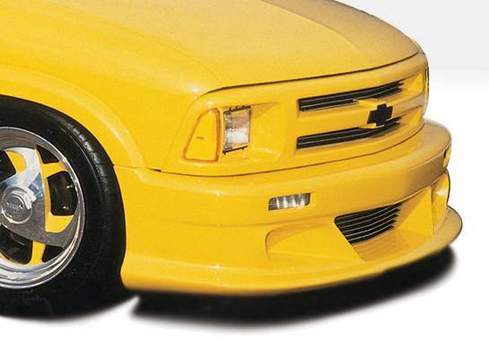 Wings West - 1995-1997 Chevrolet Blazer 2/4Dr Custom Style Front Lip Polyurethane