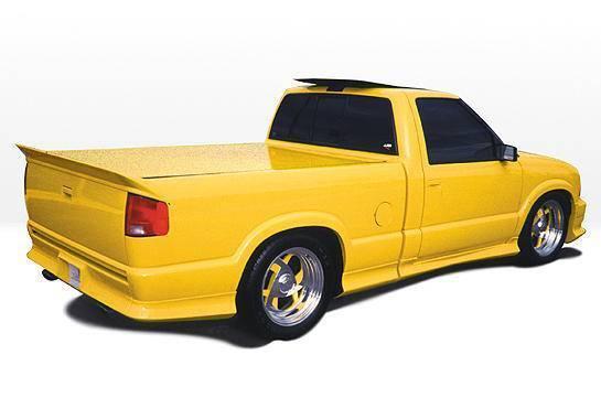 Wings West - 1994-2003 Chevrolet S 10 Standard Cab Custom Style Left Side Skirt