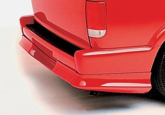 Wings West - 1995-1997 Chevrolet Blazer 2/4Dr. Custom Style Rear Roll Pan