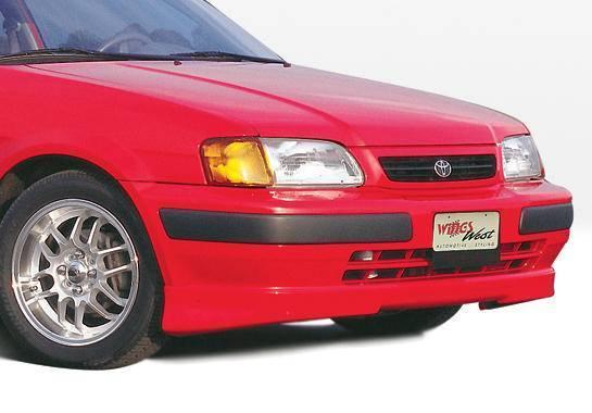 Wings West - 1995-1998 Toyota Tercel 5Pc Kit W/Lip Spoiler
