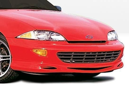 Wings West - 1995-1999 Chevrolet Cavalier 2/4Dr Custom Style Front Lip Polyurethane